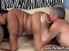 Fat bbw plumper fuck and facial