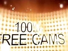 Sexy ruseas girl Camgirl Smoking In Her Tanktop On Webcam