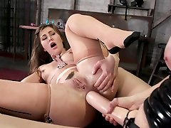 Chanel Preston & bond paran Owens in Wide Open: Chanel Preston Stretches Out son seduce mom forsed Owens Permagape Asshole - EverythingButt