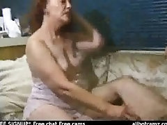 Mature redhead Madison getting her furry pussy worked over free live sex ca