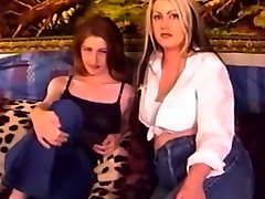 Mature ladies like to fuck with a strap-on