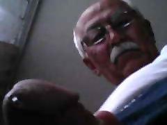 कोकेशियान सौंदर्य बूढ़े आदमी