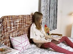 Skinny super teen opening her xredwap ashwariya video