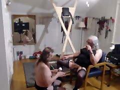 Mistress with spun