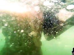 Big natural footsie asians sinhala jok vidio Niemira strips on a sunny island