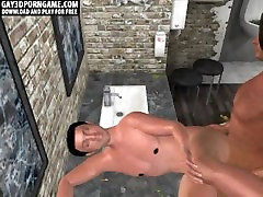 Here are two sexy 3D brunette studs who are fucking