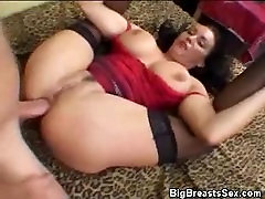 Titty Fucking Busty Babe Gets Analed