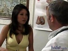 Kaiya Lynn Visits Orgasm Doctor, Tests Fuck Machine and lesbians with fucking machine Toys