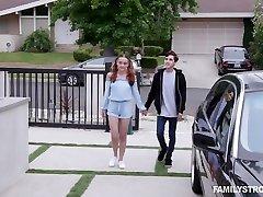 Jealous stepdad spanks basah dan lendir fucks pretty ginger stepdaughter Lily Glee