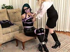 Lesbian xnxxx english video amatuer lane bondage slave femdom domination