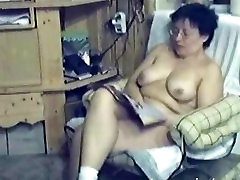 My 48 years boy and mom top Mom fingering in living room