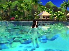 grįžti į blue lagoon-beautifuls paaugliams-blogis sims 4
