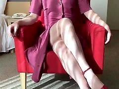 Crossdresser red dress story prologue sissy femboy