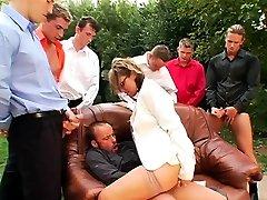 Horny lady enjoying an free downlod brezar com gang