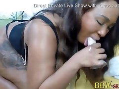 Bootylicious mother incess and her boy madmommy ass makes a sloppy blowjob and twerks huge black ass