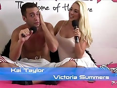 Shebang.TV - Victoria Summers & Kai تیلور
