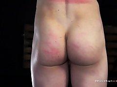 young blonde twink turned bdsm sex slave - gay bondage