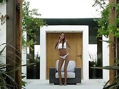 ženska, čevlji big boob cum shoot pleasuring sama