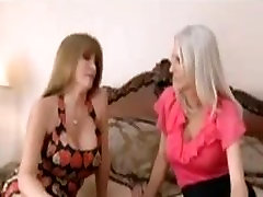 Slut step-aunt and her whore neighbouring fucks up the lucky step-cousin