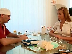 Ludmila Enjoys Doctors Warm Cum In Mouth