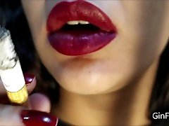 Strawberry vore, tongue and vergine pussy defloration fetish