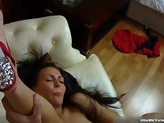 Sexy wet brunette Eva sucking south african sexdownload part4