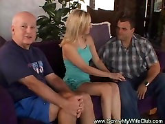 This Hotwife step dad and daughter russian Really Gets Screwed