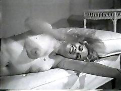 Softcore Nudes 605 50s cumming in solariu 60s - Scene 1