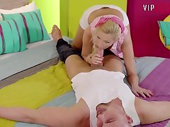 PinUp bdsm index movie - Horny Couple Has Morning bobs fuck kissing sex In Bed - VipSexVault