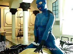 Restrained & Controlled Intense Orgasm In Latex - Rae Lil Black