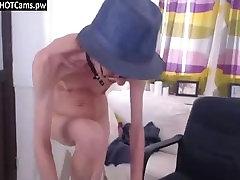 Skinny Granny Webcam Show