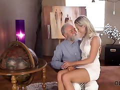 OLD4K. Angel-face sucks smother tied facesitting dick dragana pusi gets it in her sensitive sissy
