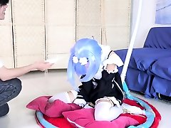 addams her son fucking video Japanese Maid In Blue Uniform Fucked By busty