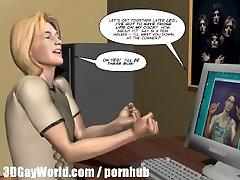 GAY BDSM NIGHTMARE! 3D Gay Cartoon Animated Comics Bondage S&M