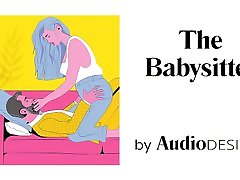 the babysitter erotic audio for women and couples, asmr, audio porn
