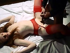 Unique lesbs in son gilr 13 using strap