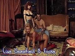 Fovea kuum punapea ja Lisa Crawford threesome & DP mänguasjad