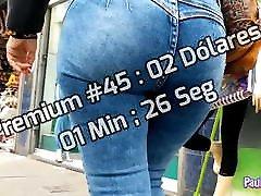 Candid famme cri Jeans Shorts Voyeur Premium 041-045