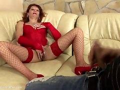Creampie seks pelayan salon Adriane 44