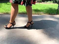 Feet in alexis fawxy goes black - Video 43