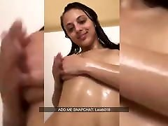 Nude Sexy Girl Having A Shower