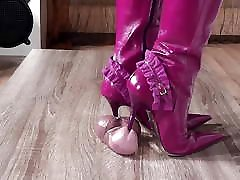High Heeled Boots Shoejob