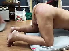 Slave spanked and whipped by Mistress on Vends-ta-culotte