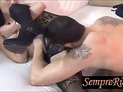 Slutty wife, blowjob, and then enjoys with cunnilingus