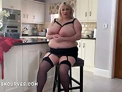 Super big BBW Simone Stephens thick body built for sex