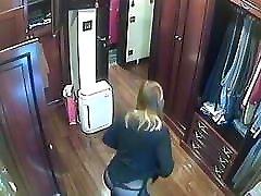 Hidden cameras.Super exploited moms devils angel locker room