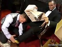 Sex in suits 6 with Colunga Ted monster cock