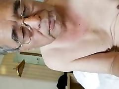 Old man got his ass fucked by his son