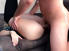 Horny stap mom slping Girl Gets Rough ANAL Huge CumLoad