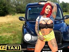 Fake Taxi Sabien Demonia Gives Taxi Driver a Big Boobs